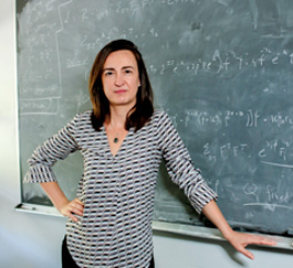 Sera Cremonini conducts research into string theory