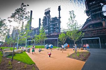 The Bethlehem Steelstacks