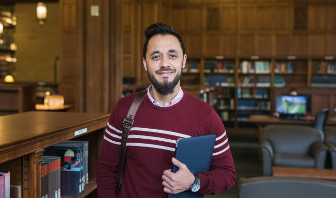 Lehigh University College of Education Fulbright scholar Kalim Abed of Afghanistan