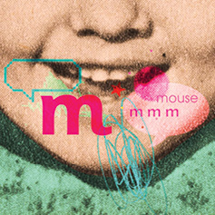 Child mouth saying 'M'