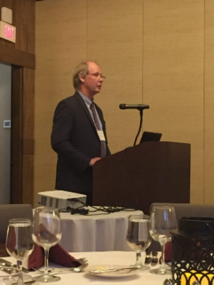 Martin Harmer speaks at Lehigh University convergence conference