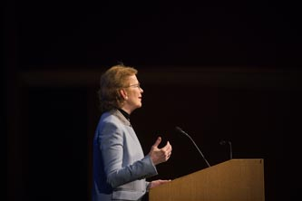 Mary Robinson speaks at Lehigh University