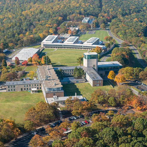 Aerial view of Lehigh's Mountaintop Campus