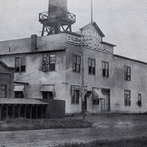 Old photo of Packard Electric Company