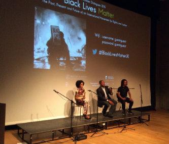 Monica Miller, James Peterson, and Akala.