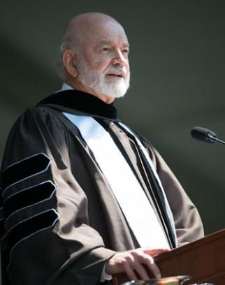After graduating from Lehigh, Joseph R. Perella '64 would go on to earn an MBA from Harvard and build a hugely successful career on Wall Street. He encouraged Lehigh's newest graduates to strive for excellence in all that they do.