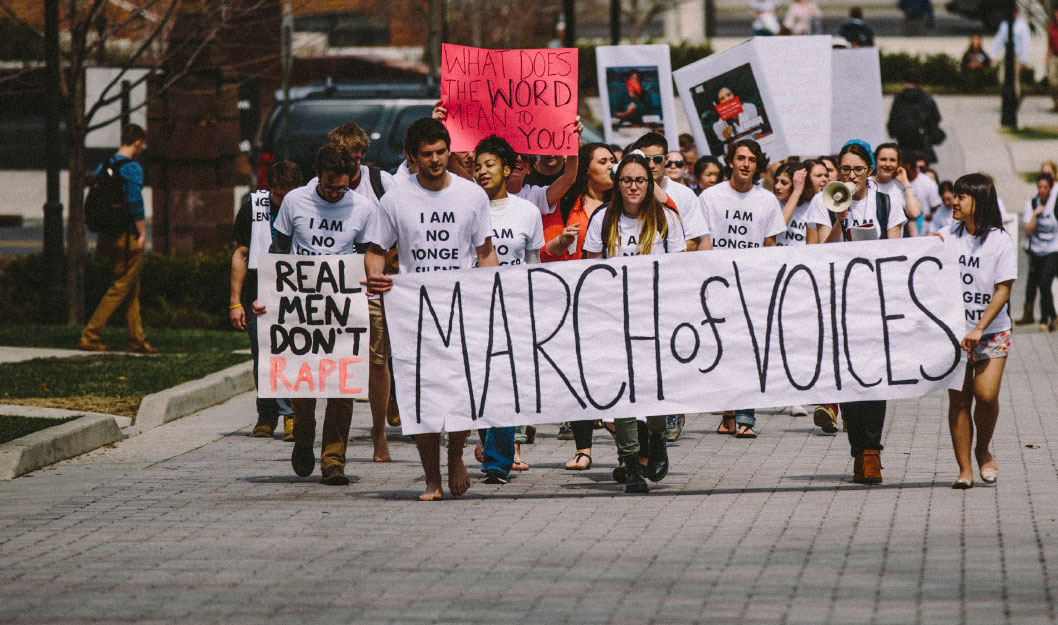 The Principles of Our Equitable Community march