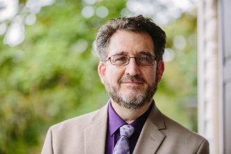 Rabbi Steven Nathan, interim director of Jewish Student Life at Lehigh University