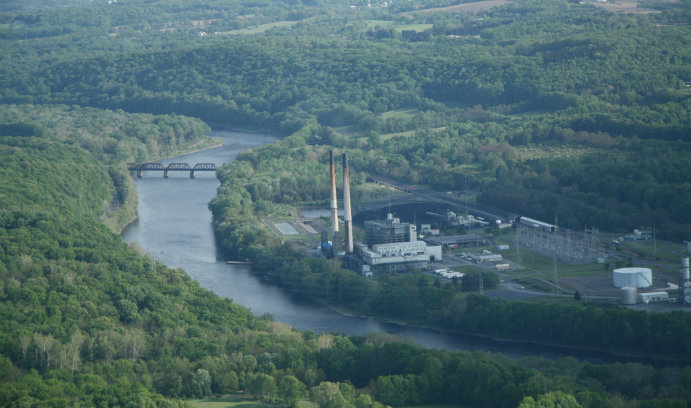 Portland Generating Station in Upper Mount Bethel Township, Pennsylvania