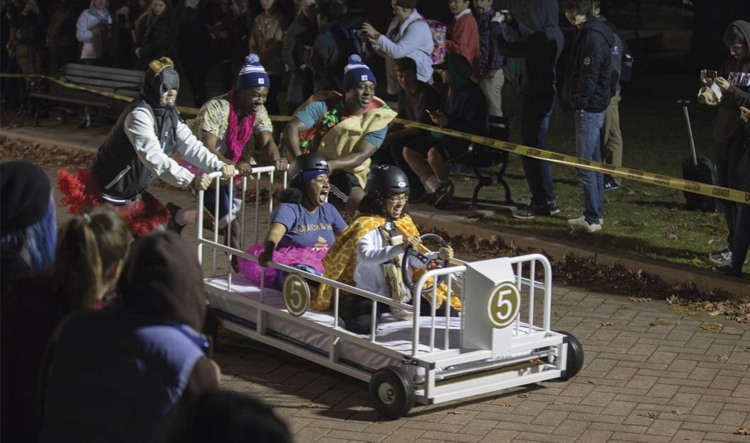 Lehigh University Bed races