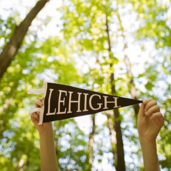Lehigh pennant banner