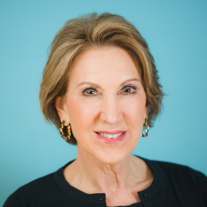 Carly Fiorina for the Ethics Lecture