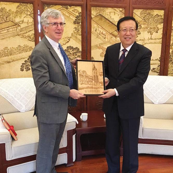 President John Simon in China