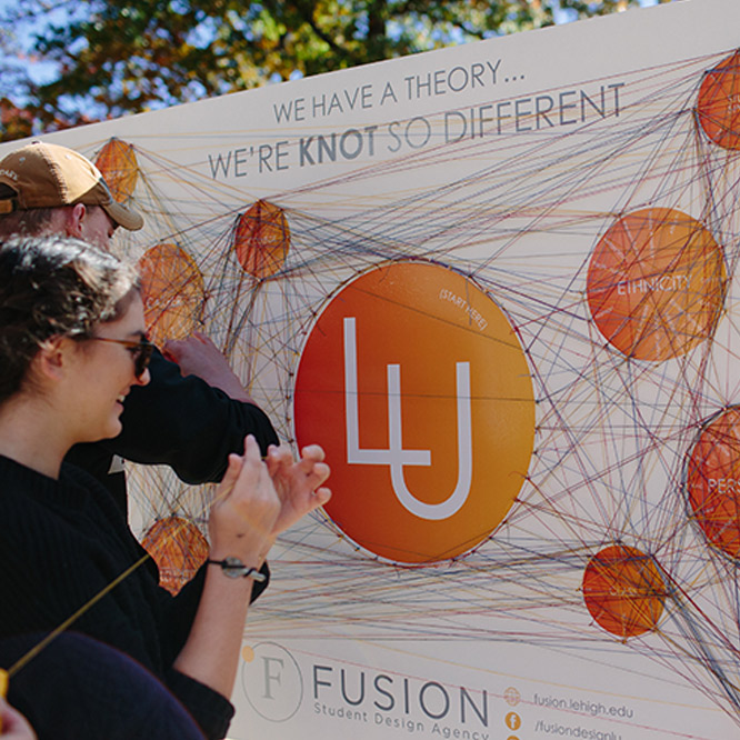 Students in the Fusion Group using string theory