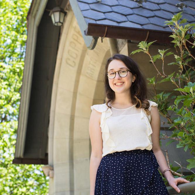 Lehigh student Klaudia Jazwinska '18