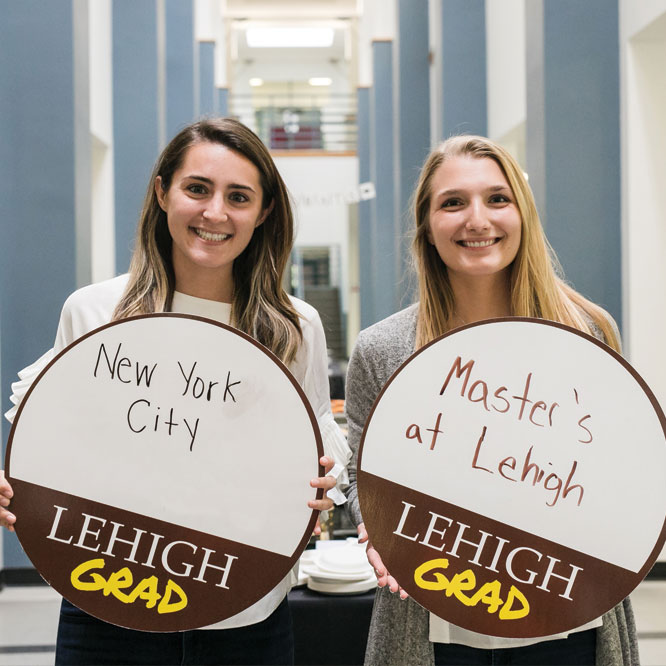 Alexa Morin '19 and Michelle Ditzig '19 share their post graduation plans.