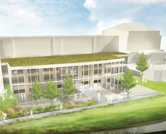 Rauch Business Center Expansion Exterior