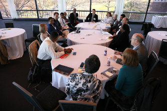 Group discussion at Summit 2018: Transforming the Culture of Faculty Service Engagement at Lehigh University