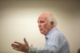 Author Taylor Branch speaks at Lehigh University