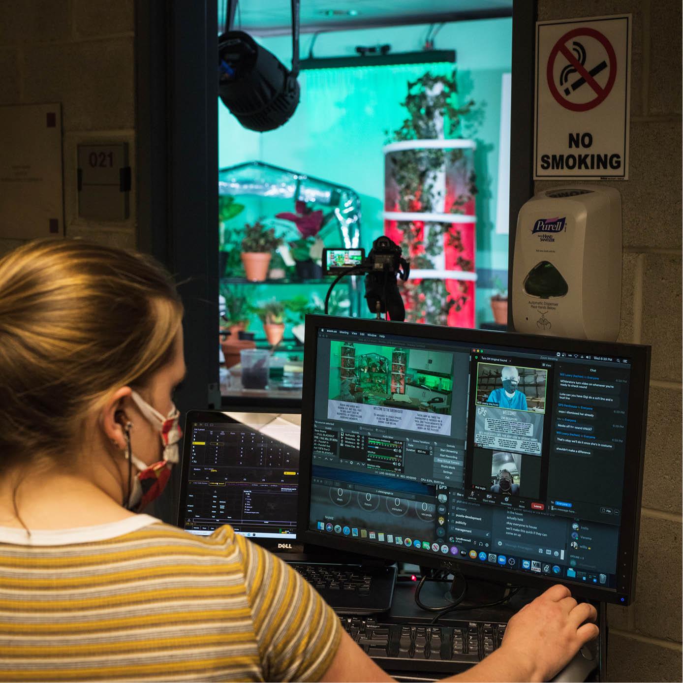 Lehigh University Department of Theatre interactive online performance