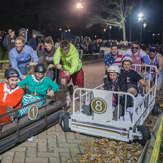 Bed races at Lehigh University
