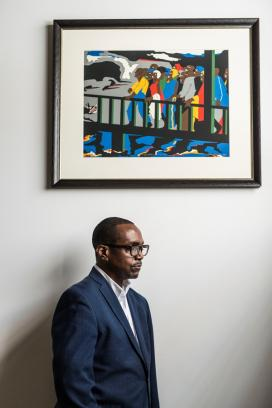 Boothe, the co-founder of Lehigh's Africana Studies program, is an abstract painter, printmaker and photographer in his own right.
