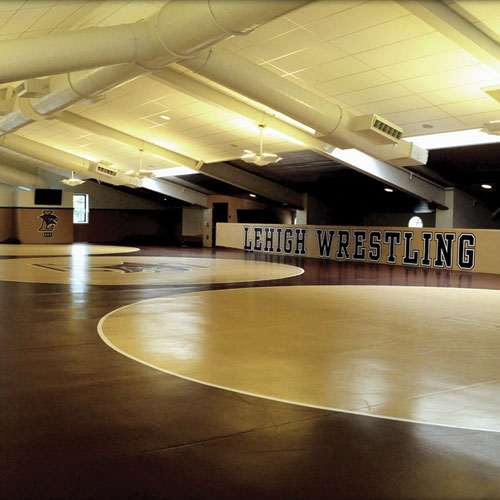 Interior of Caruso Wrestling Complex