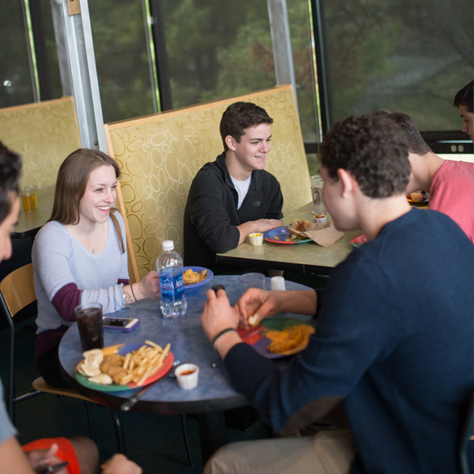 Lehigh provides students with a wide and ever-expanding range of dining options.