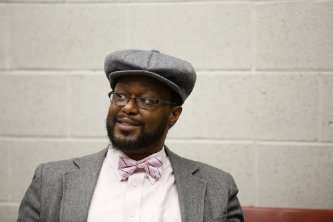 Darius Omar Williams, assistant professor of theatre and Africana studies