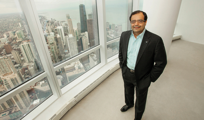 Sanjay Shah has a passion for technology