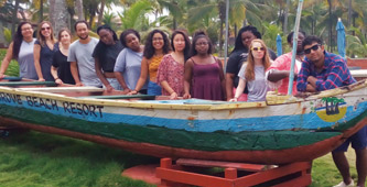 The Lehigh students who journeyed last summer to Ghana were funded by Trevor Bond '83, John Franchini '97 and Ronald J. Ulrich '67.
