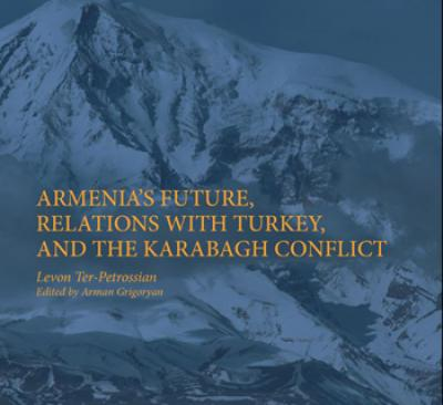 In a recent book, Grigoryan edited the compiled articles, speeches and interviews of Levon Ter-Petrossian, Armenia's first post-Soviet president and current head of its leading opposition party. (Image by Palgrave Macmillan)