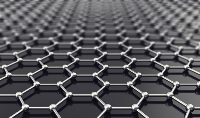 image of the graphene's lattice-like structure