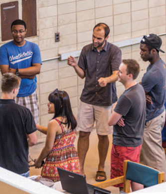 Students in Lehigh's College of Arts and Sciences engage in interdisciplinary research.