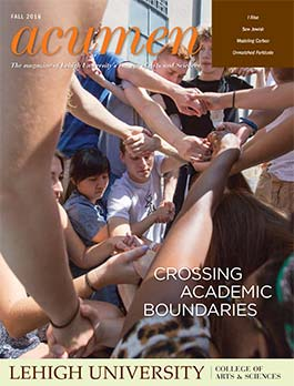 Cover of Acumen, Fall 2016 issue