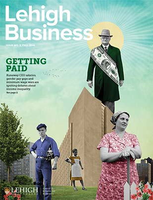 Cover of Lehigh Business, 2016