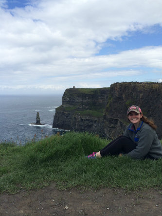 Accounting major Emma K. Hillman interned at Ernst and Young LLP in Ireland.