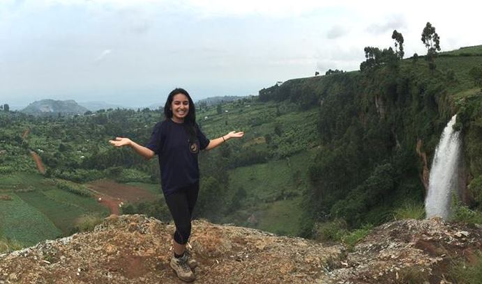 Priyokti Rana spent last summer in Uganda through the Iacocca International Internship program. She will spend this summer in Nepal studying NGOs involved in health-related activities. (Photo courtesy of Priyokti Rana)