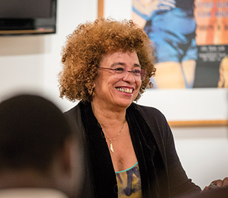 Activist Angela Davis visited Lehigh in 2014 to deliver the annual Martin Luther King Jr. address.