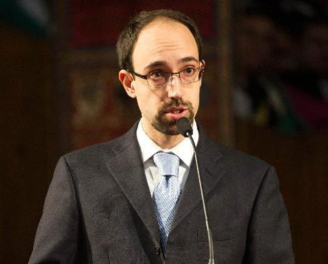 Paolo Bocchini, an assistant professor of civil and environmental engineering