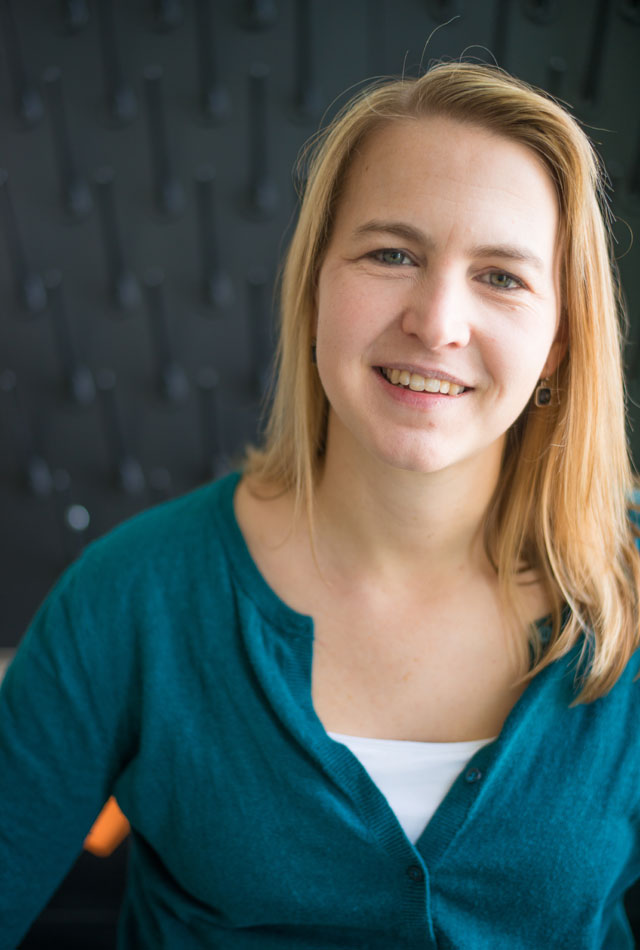 Angela Brown, assistant professor of chemical and biomolecular engineering