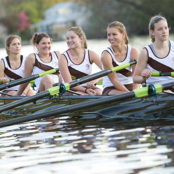 Girls rowing team