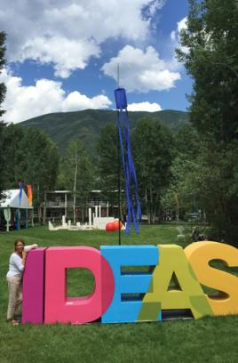 Dean Georgette Chapman Phillips attends 2016 Aspen Ideas Festival