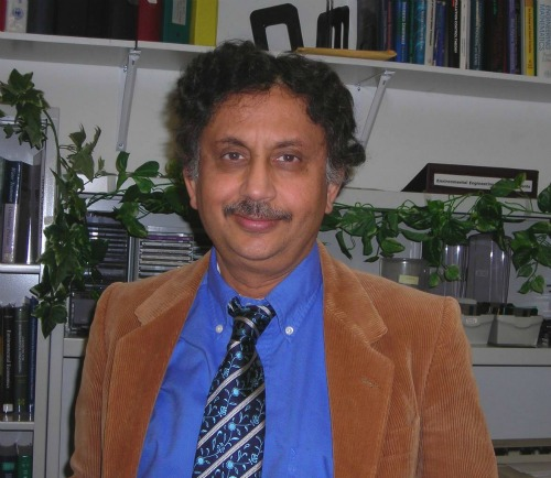 Arup K. SenGupta, the P.C.Rossin Professor in the department of civil and environmental engineering and the department of chemical engineering