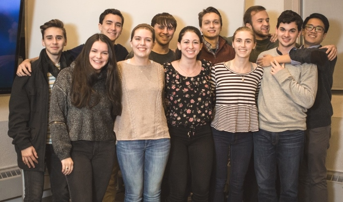 Lehigh's Soterra students and 20 other teams have been chosen to compete in the semifinal round for the XPRIZE Foundation's Jain Women's Safety Prize. (Photo by Christa Neu)