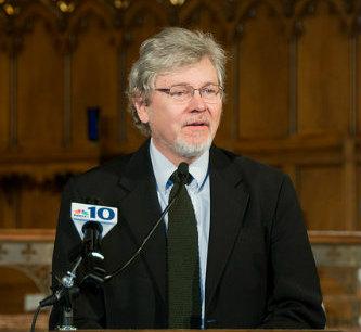 Lloyd Steffen, professor of Religion Studies at Lehigh and university chaplain