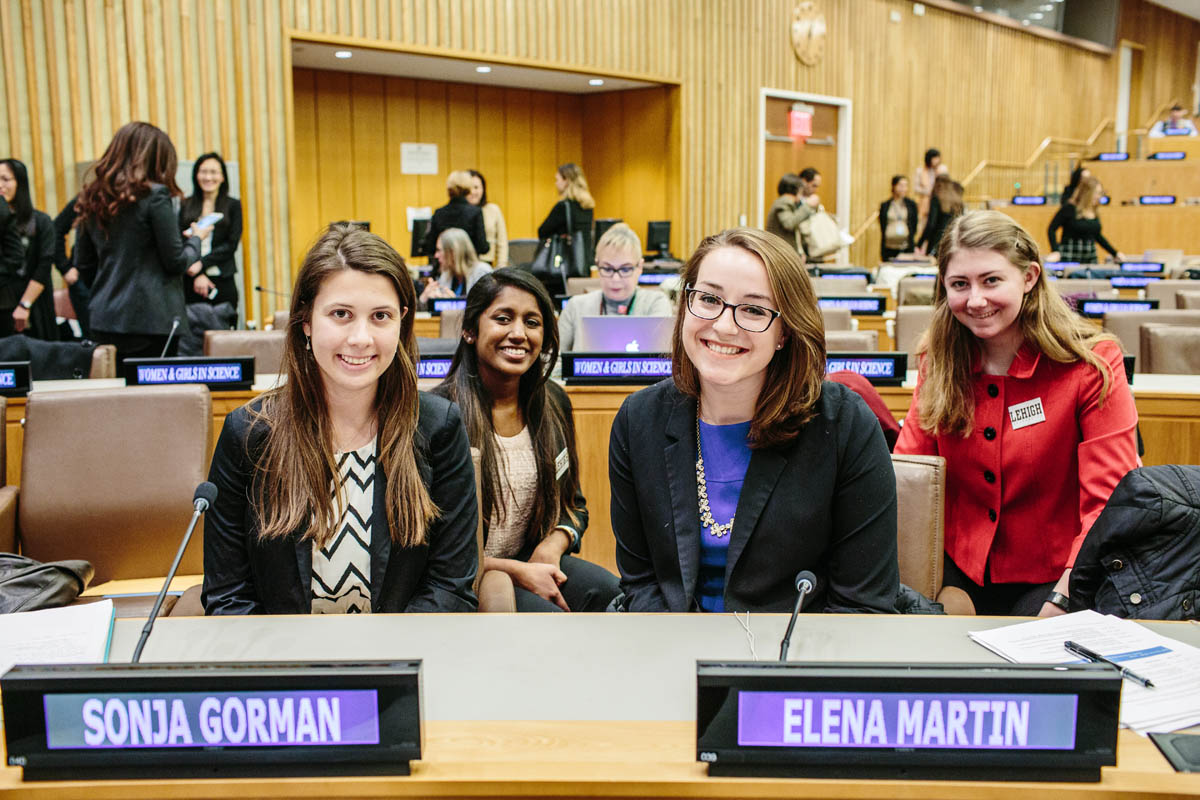 Lehigh joins UN partners to advocate for women and girls in science