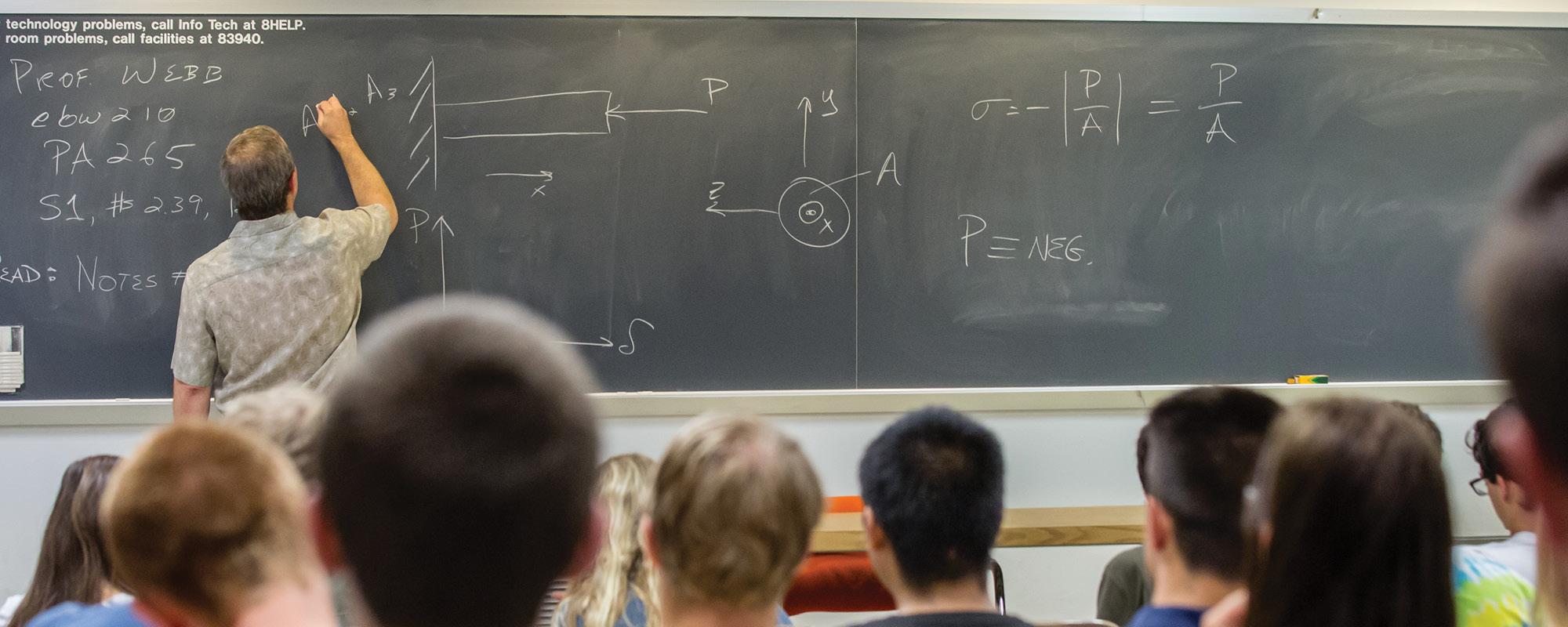 Calculus blackboard