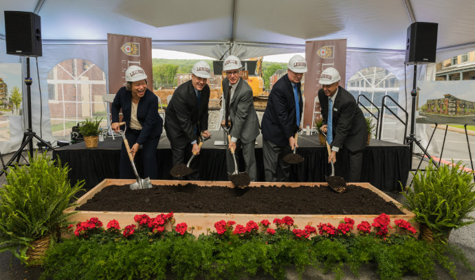 SounthSide Commons groundbreaking