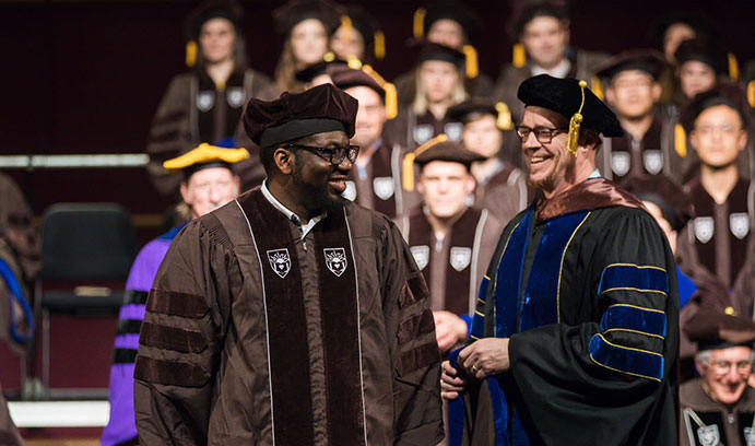 Lehigh doctoral hooding ceremony